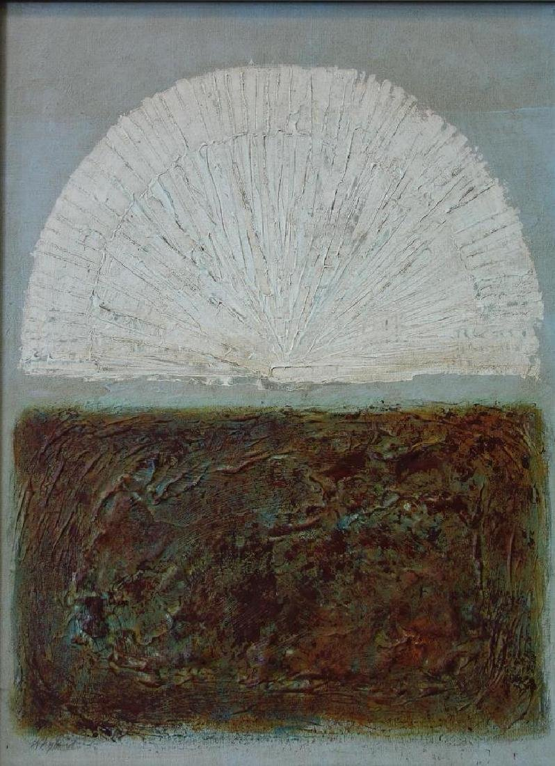 Whyland (20thc) Early Morning, Acrylic on Canvas
