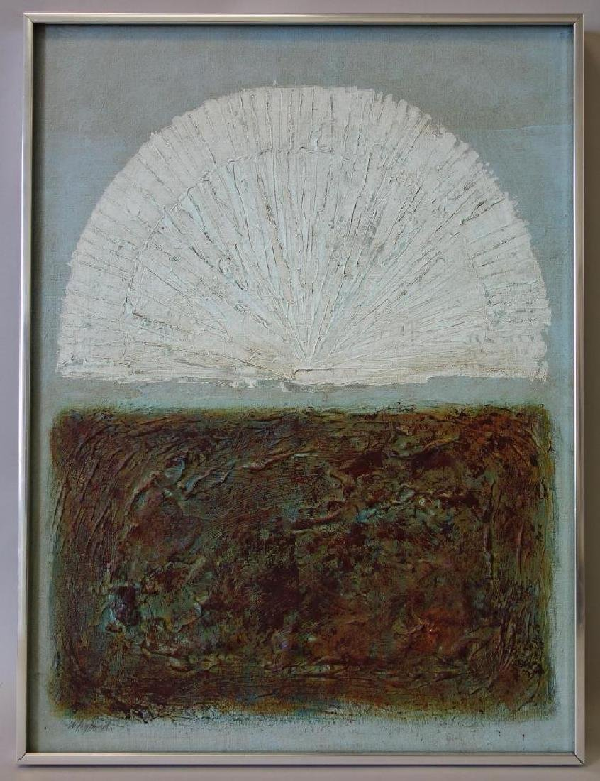 Whyland (20thc) Early Morning, Acrylic on Canvas - 2