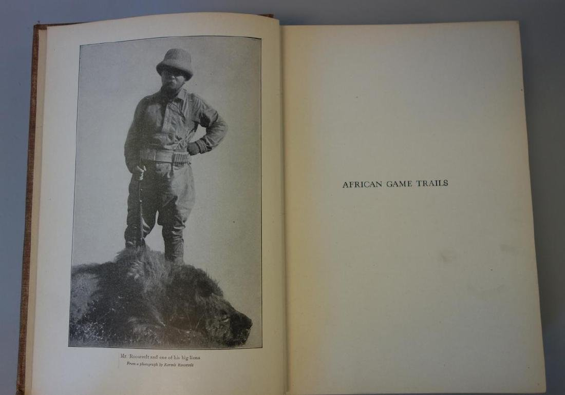 Theodore Roosevelt, Book:  African Game Trails - 3