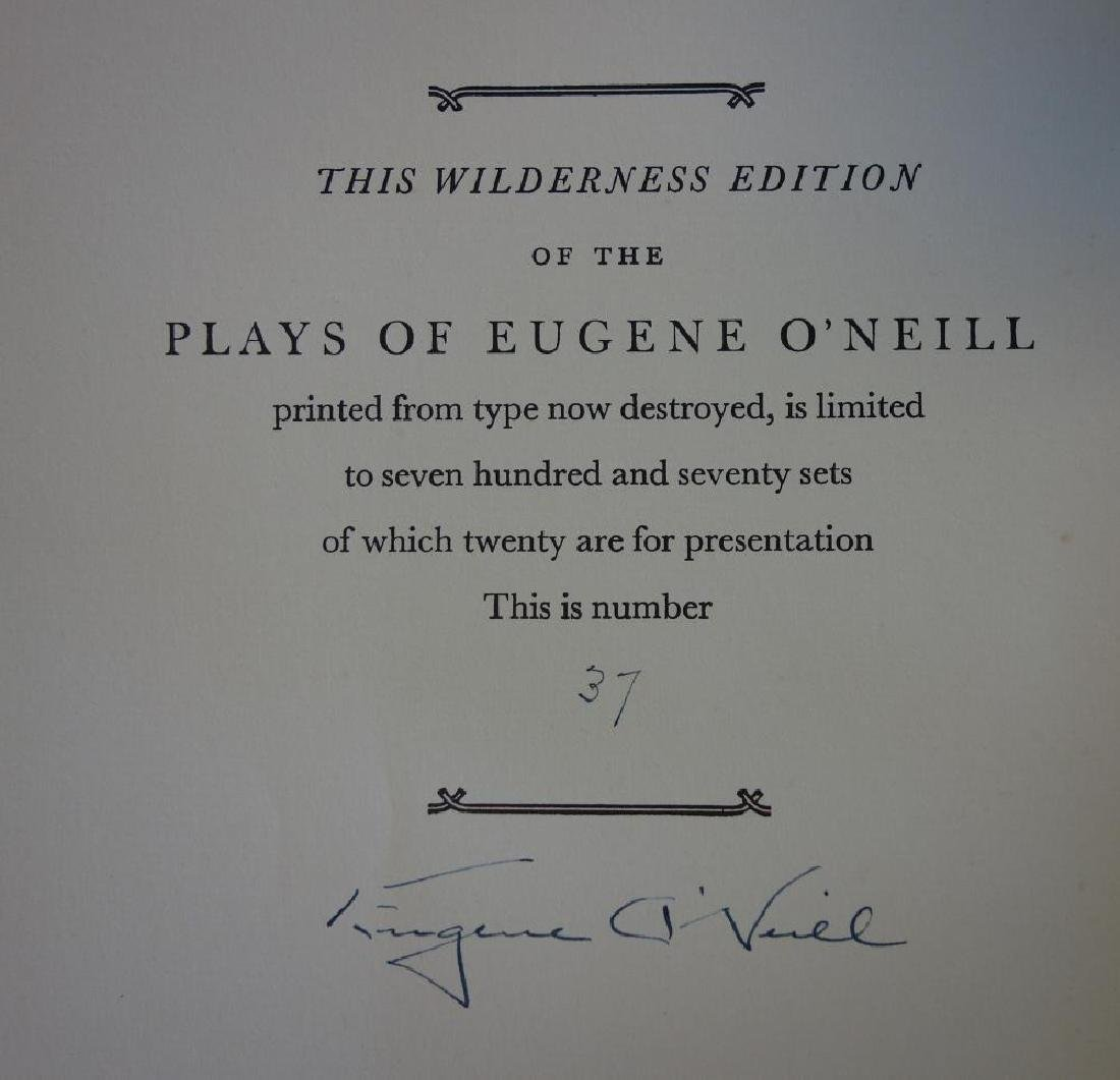 The Plays of Eugene O'Neill, Signed Edition - 2