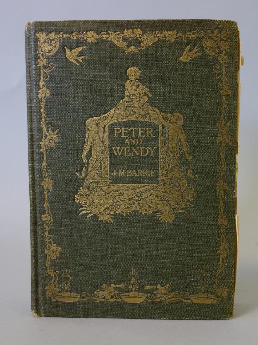 Peter and Wendy 1st American Edition, J.M. Barrie