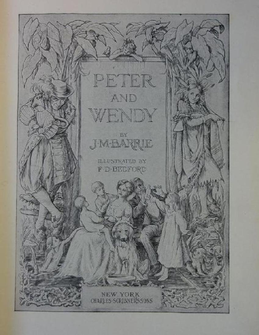 Peter and Wendy 1st American Edition, J.M. Barrie - 2