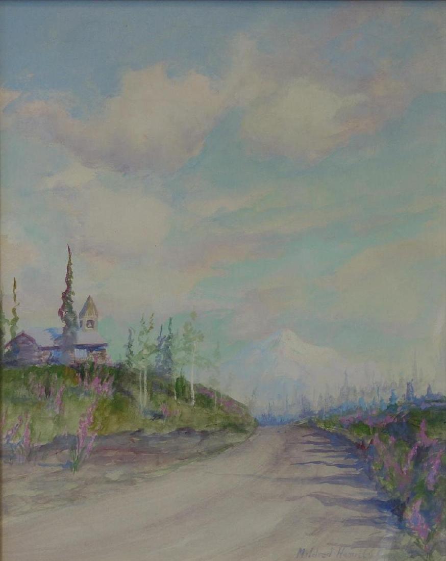 Mildred Hamill (1870-1970)  Alaska Landscape