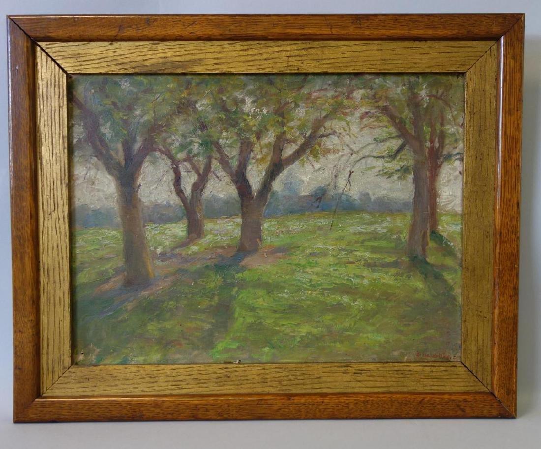 Bessie Hendricks (1867-1929) Orchard Study - 2