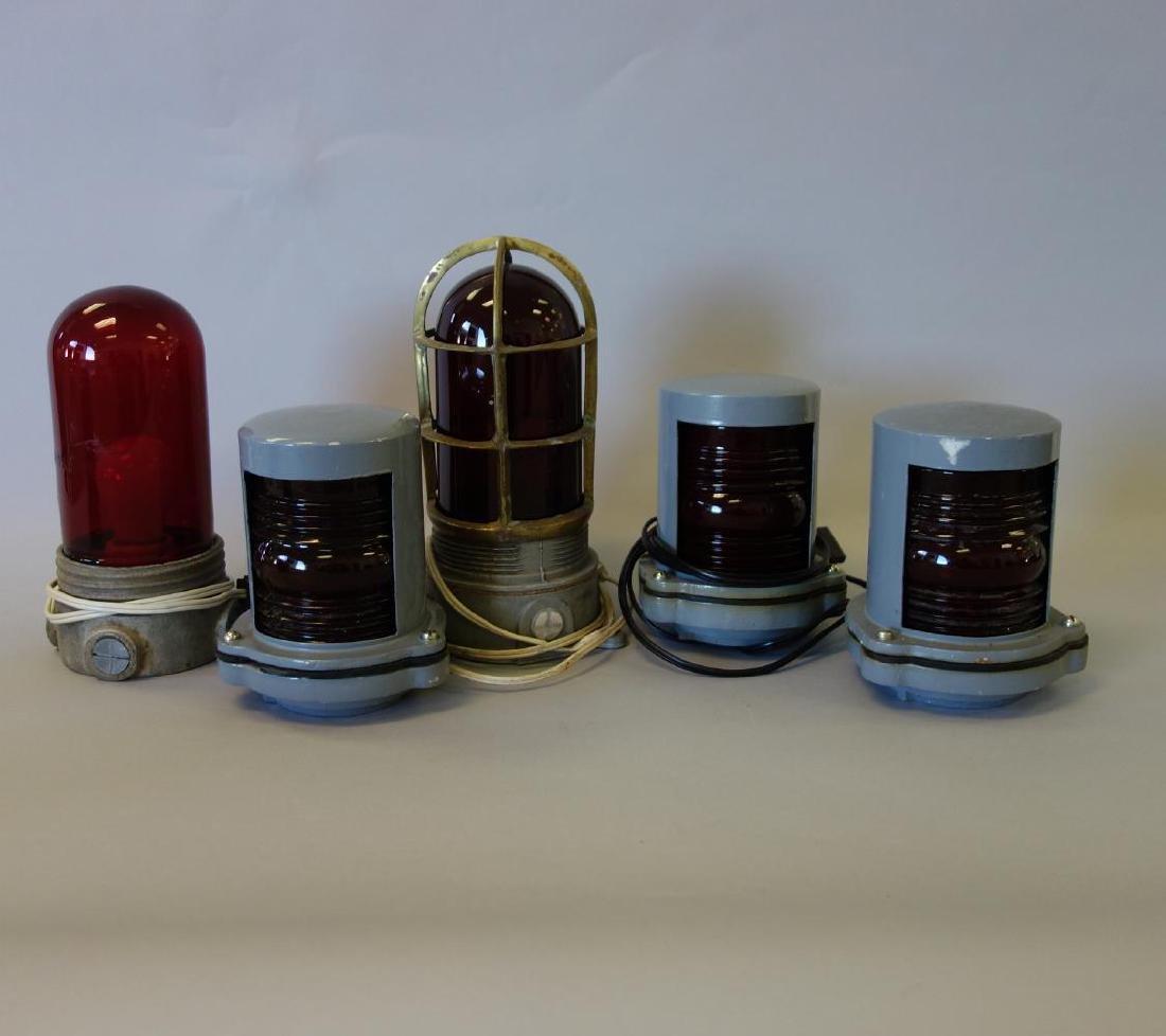 5 Ship's Port Side Lantern Lights
