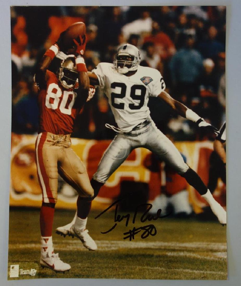 Jerry Rice (b-1962)  Autographed Photograph