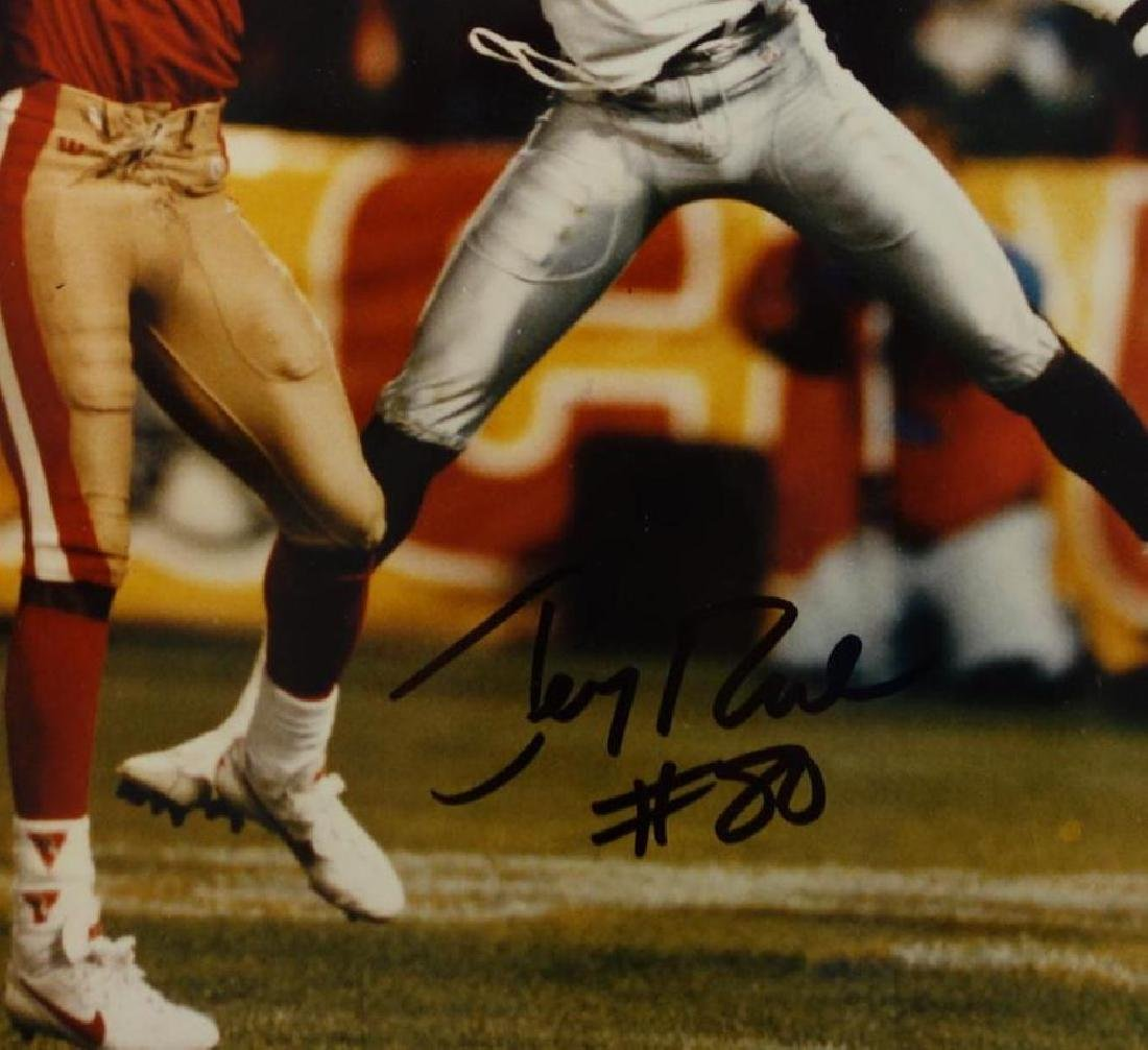 Jerry Rice (b-1962)  Autographed Photograph - 2