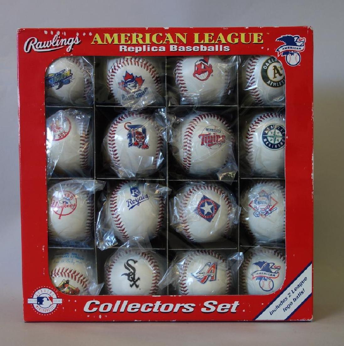 Rawlings American League Replica Baseballs