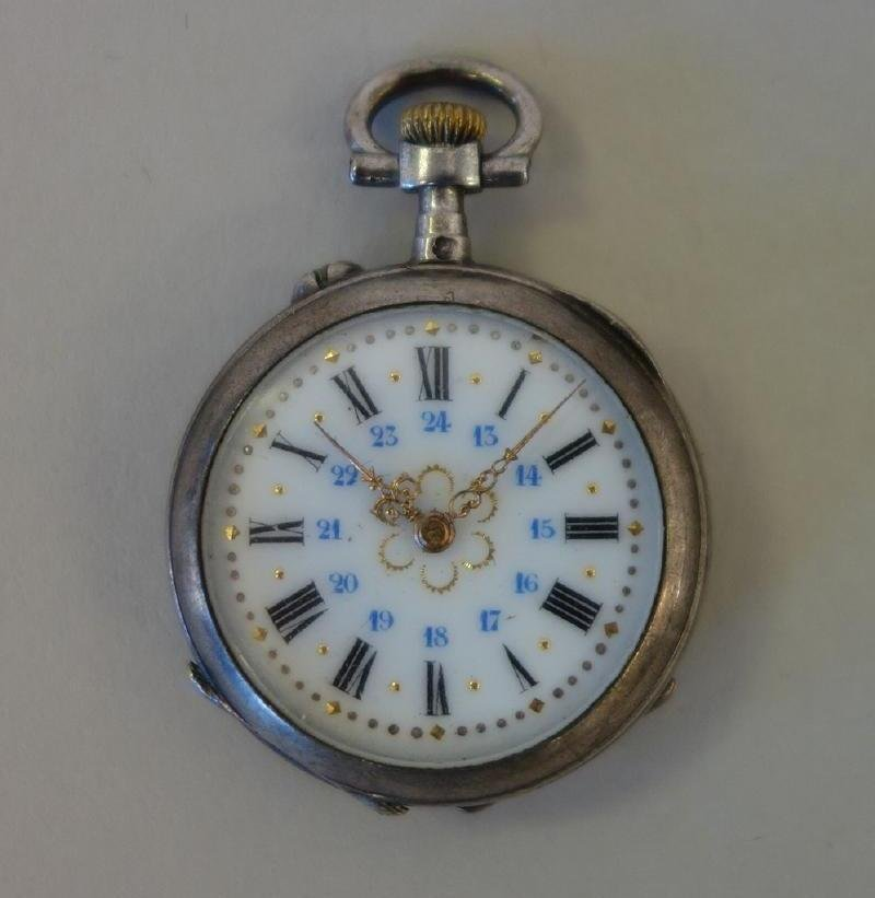 Ladies Swiss Pocket Watch, Signed R & A