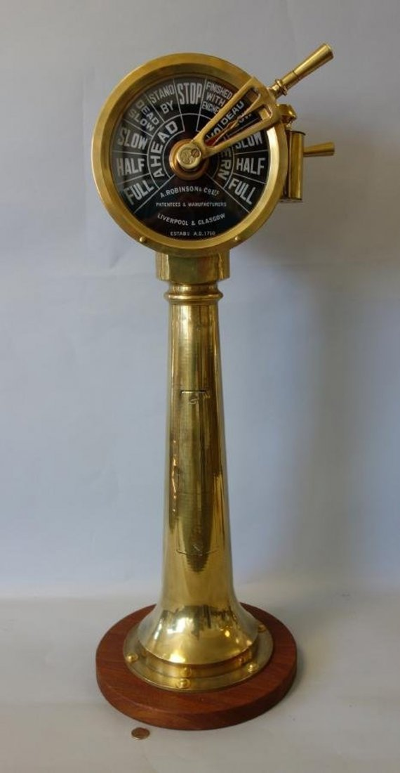 Ship's Engine Order Telegraph, A. Robinson Ltd