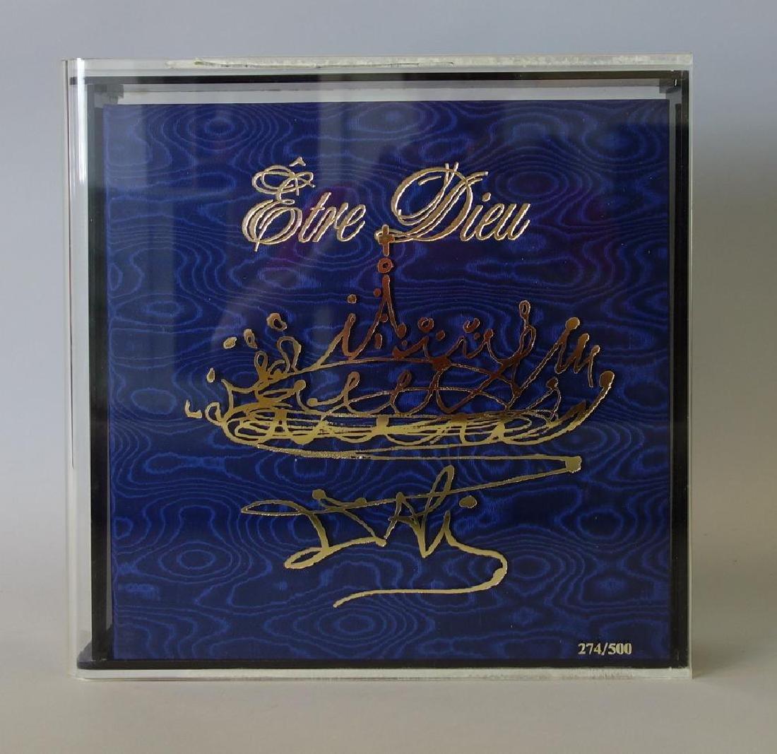 Salvador Dali, Etre Dieu, Grand Opera Portfolio - 10