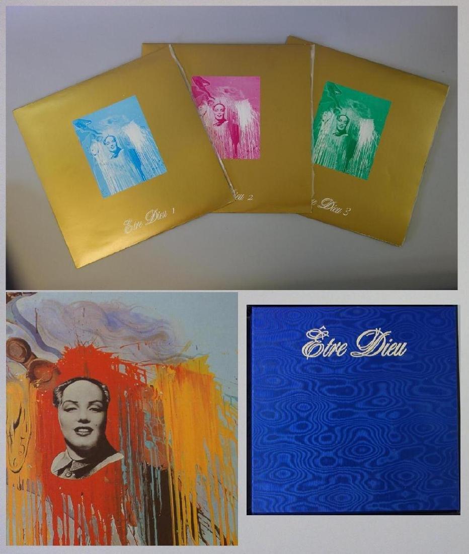 Salvador Dali, Etre Dieu, Grand Opera Portfolio