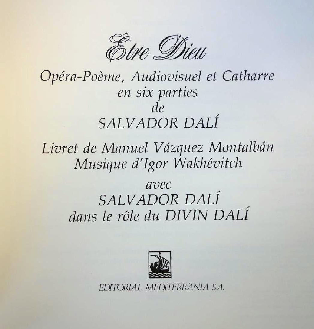 Salvador Dali, Etre Dieu, Grand Opera Portfolio - 5