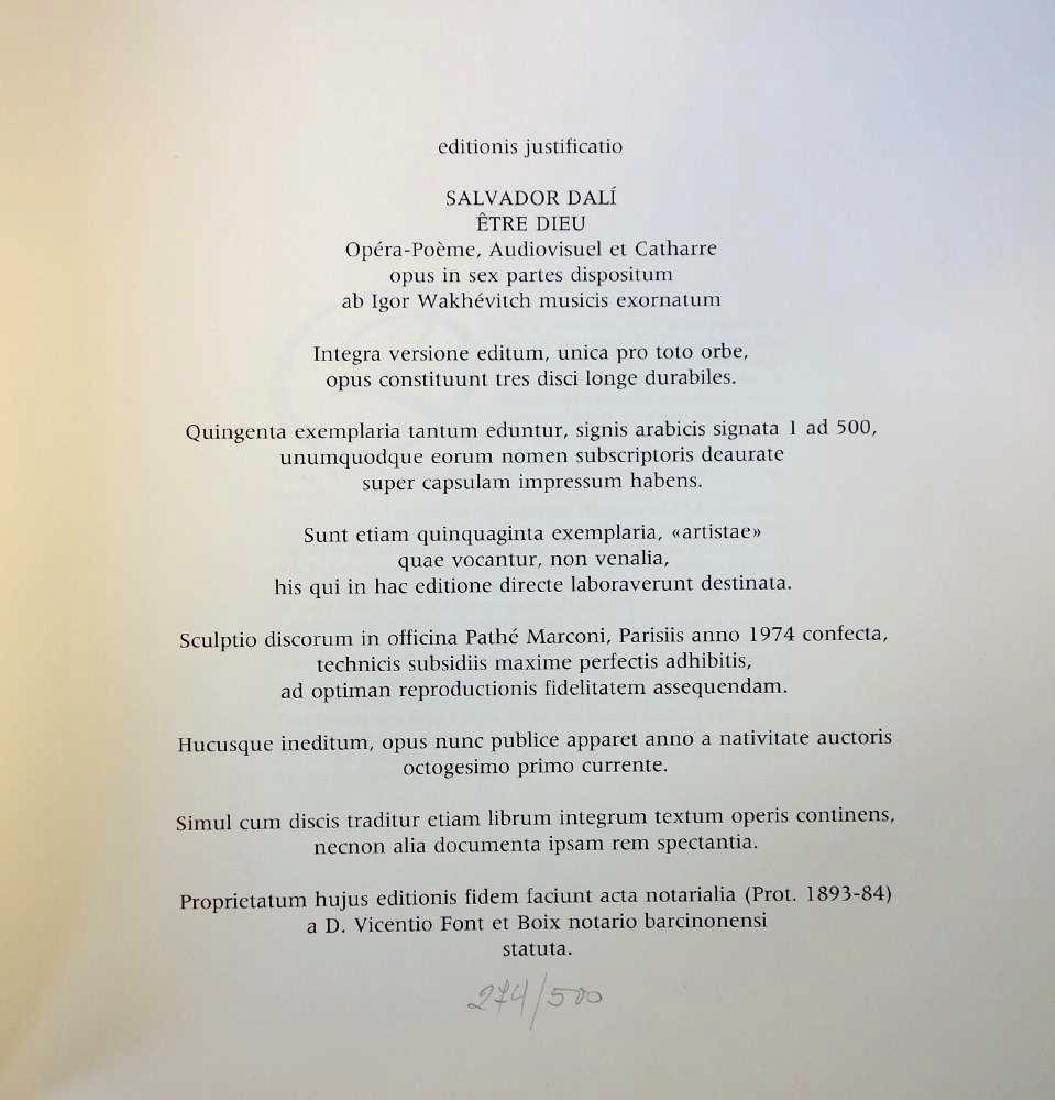 Salvador Dali, Etre Dieu, Grand Opera Portfolio - 6