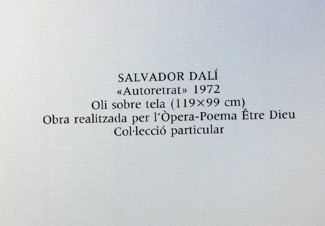 Salvador Dali, Etre Dieu, Grand Opera Portfolio - 8
