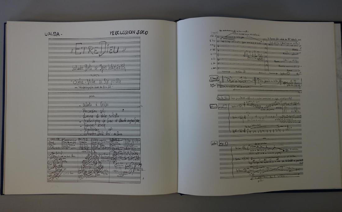 Salvador Dali, Etre Dieu, Grand Opera Portfolio - 9
