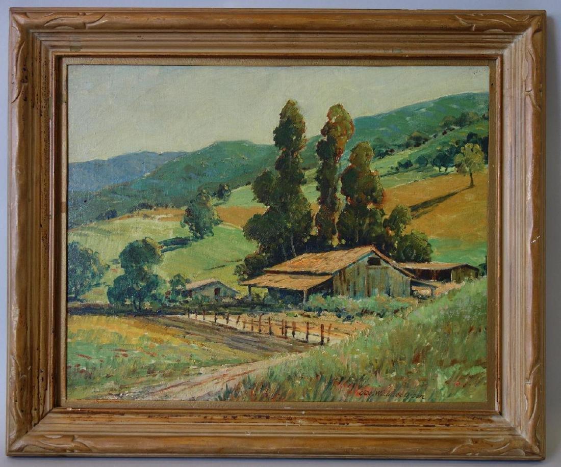 George W Olson (1876-1938) California Landscape - 2