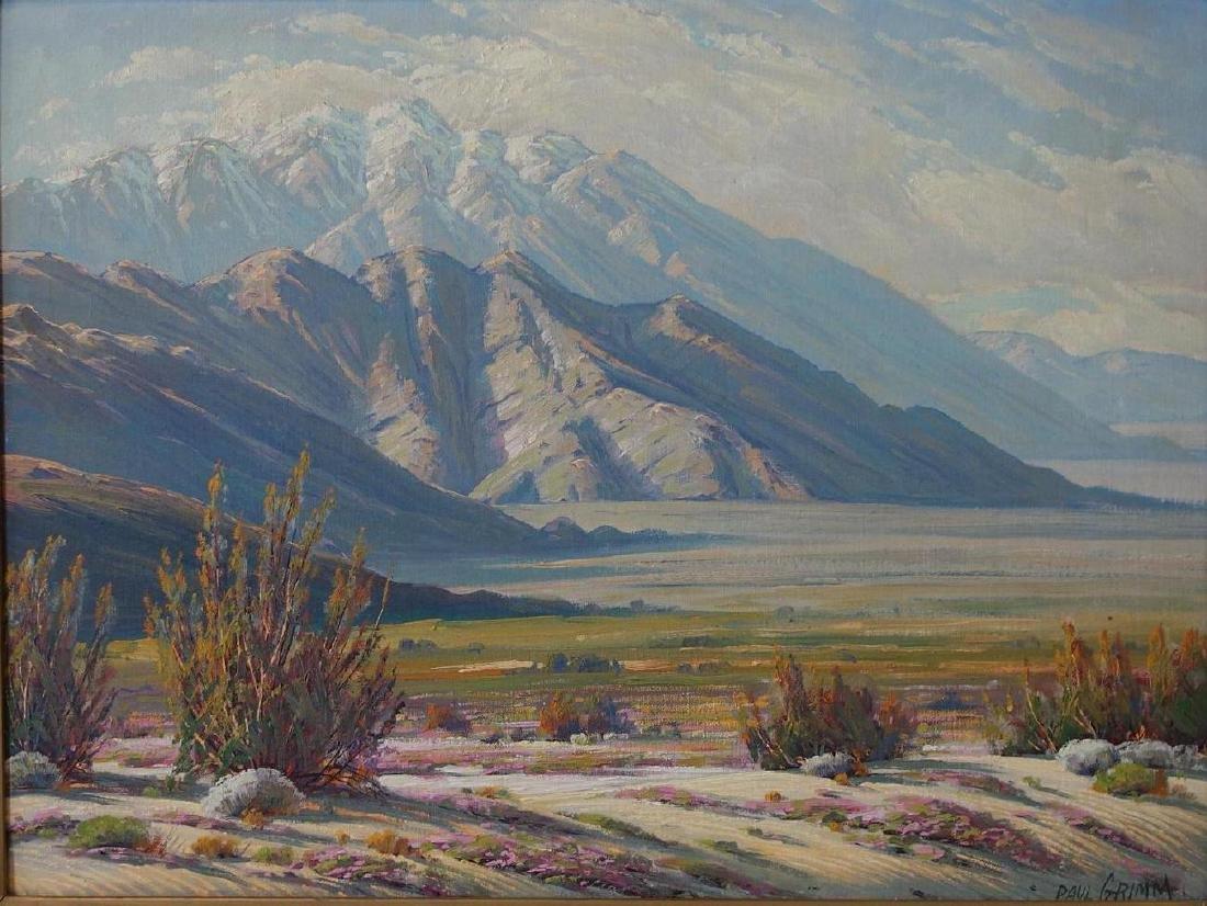Paul Grimm (1891-1974) Desert Contrasts