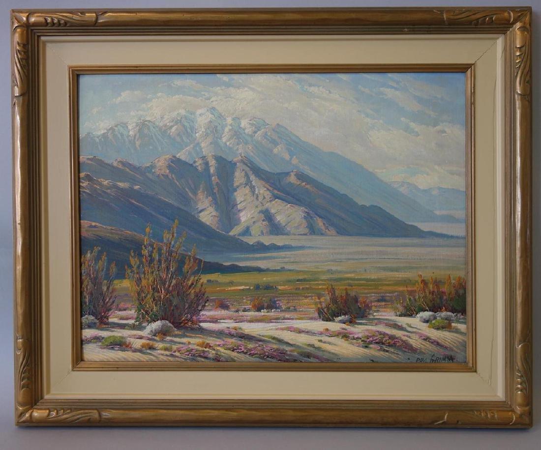 Paul Grimm (1891-1974) Desert Contrasts - 2