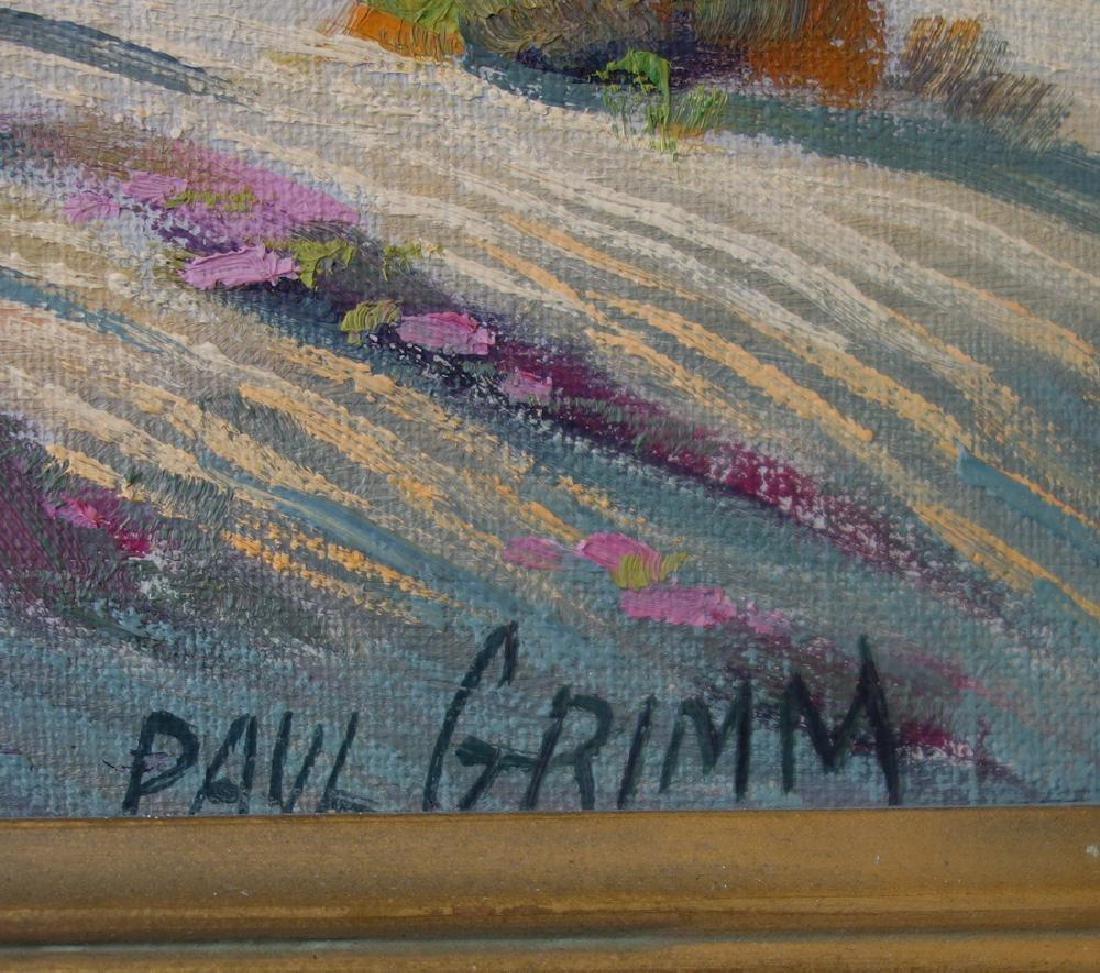 Paul Grimm (1891-1974) Desert Contrasts - 3