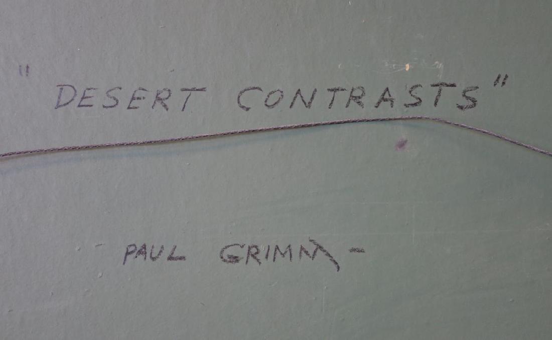 Paul Grimm (1891-1974) Desert Contrasts - 4