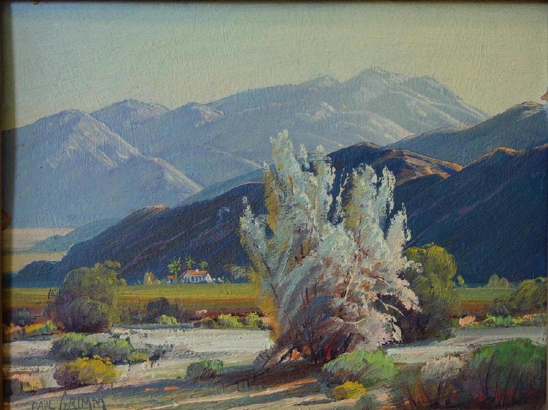 Paul Grimm (1891-1974) Desert Landscape