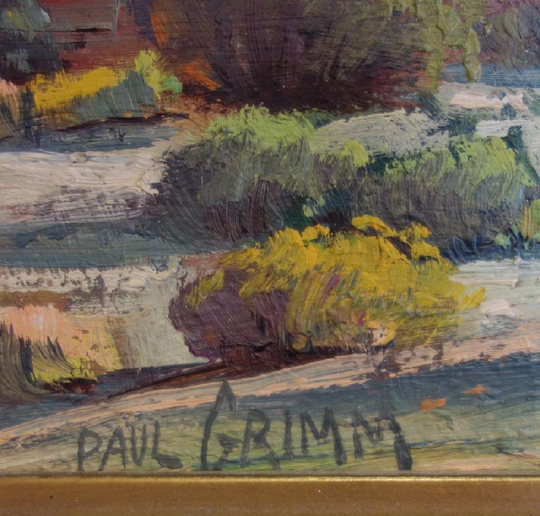 Paul Grimm (1891-1974) Desert Landscape - 3