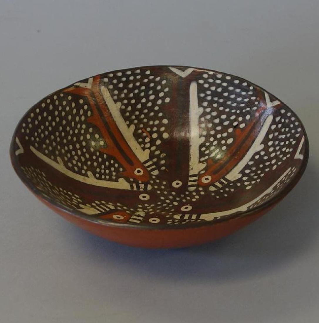 Nazca Ceramic Bowl, Peru, 400-600 A.D.