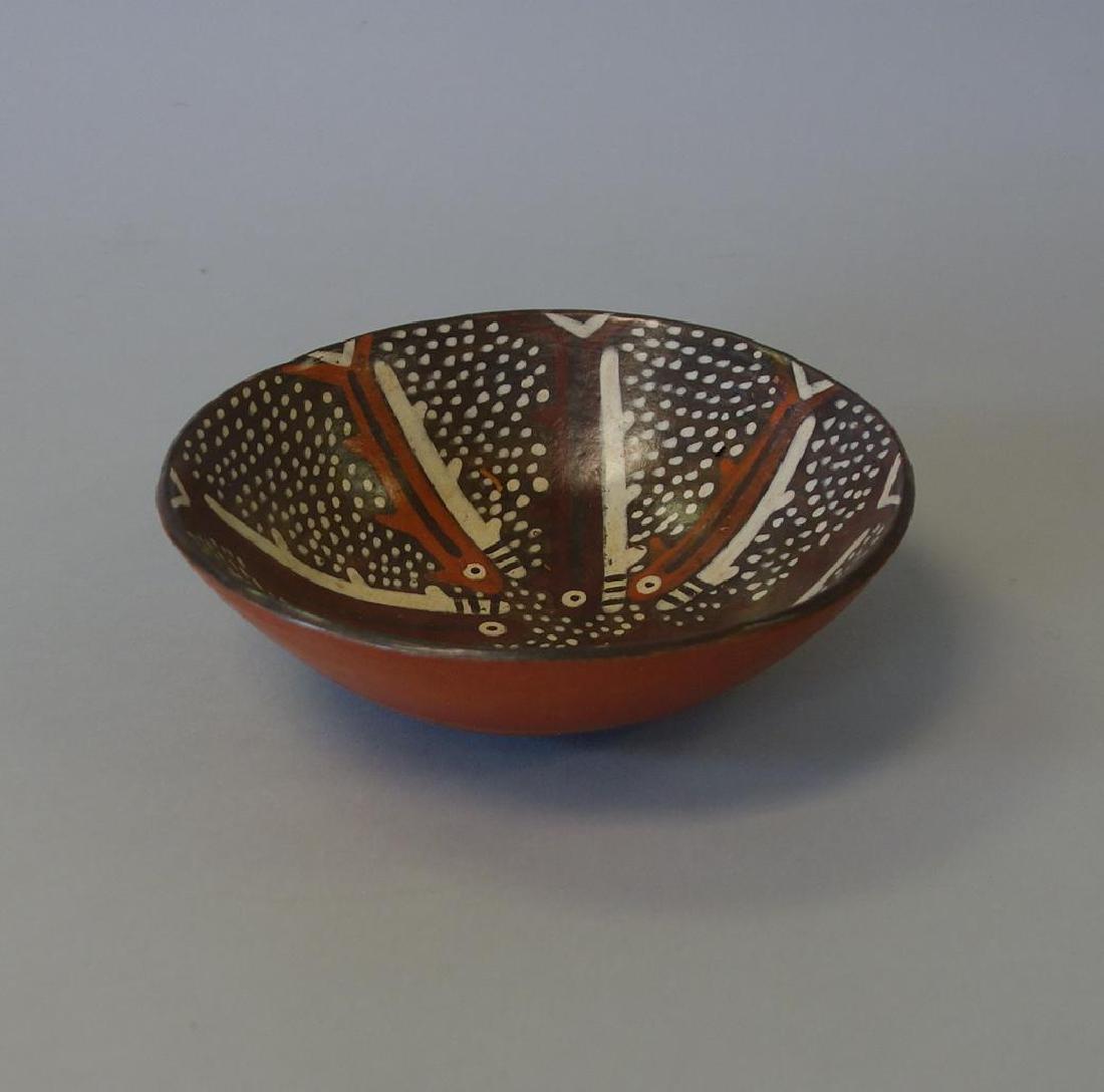 Nazca Ceramic Bowl, Peru, 400-600 A.D. - 3