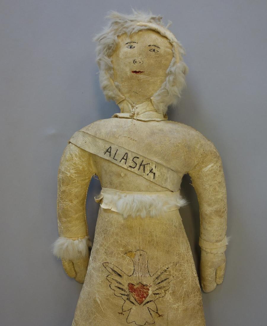 Native American Indian, Alaska Eskimo Doll - 2