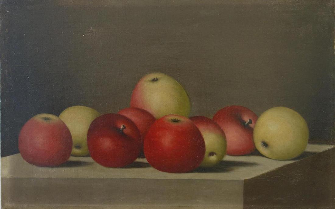 Barton S. Hays (1826-1914) Still Life of Fruit
