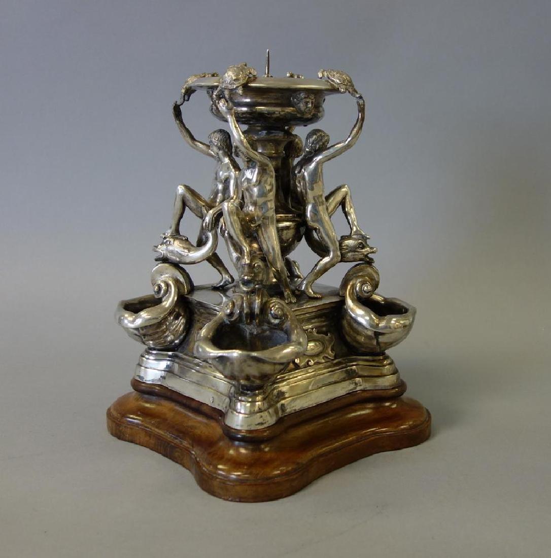 Silver Centerpiece, Fontana delle Tartarughe - 3