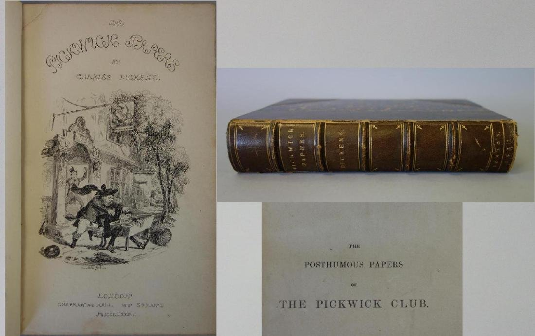 Dickens, Pickwick Papers, First Edition London