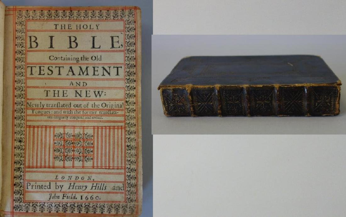 The Holy Bible, Henry Hills & John Field, 1660