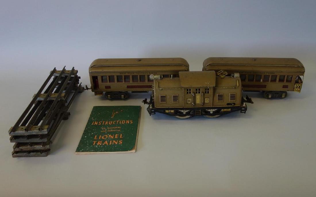 Lionel Standard Gauge Train Set, Super Motor +
