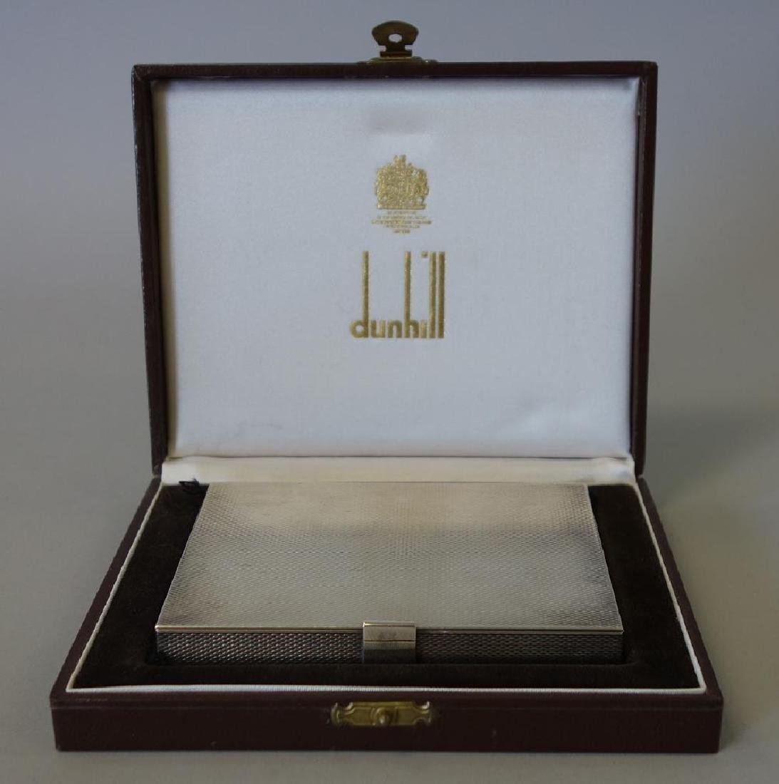Dunhill, Paris Cigarette Case w/ Presentation Box