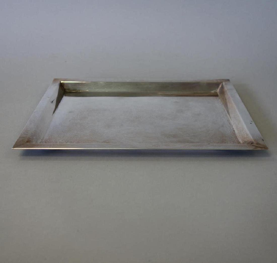 Sterling Mid-Century Tray, 950 Silver Purity