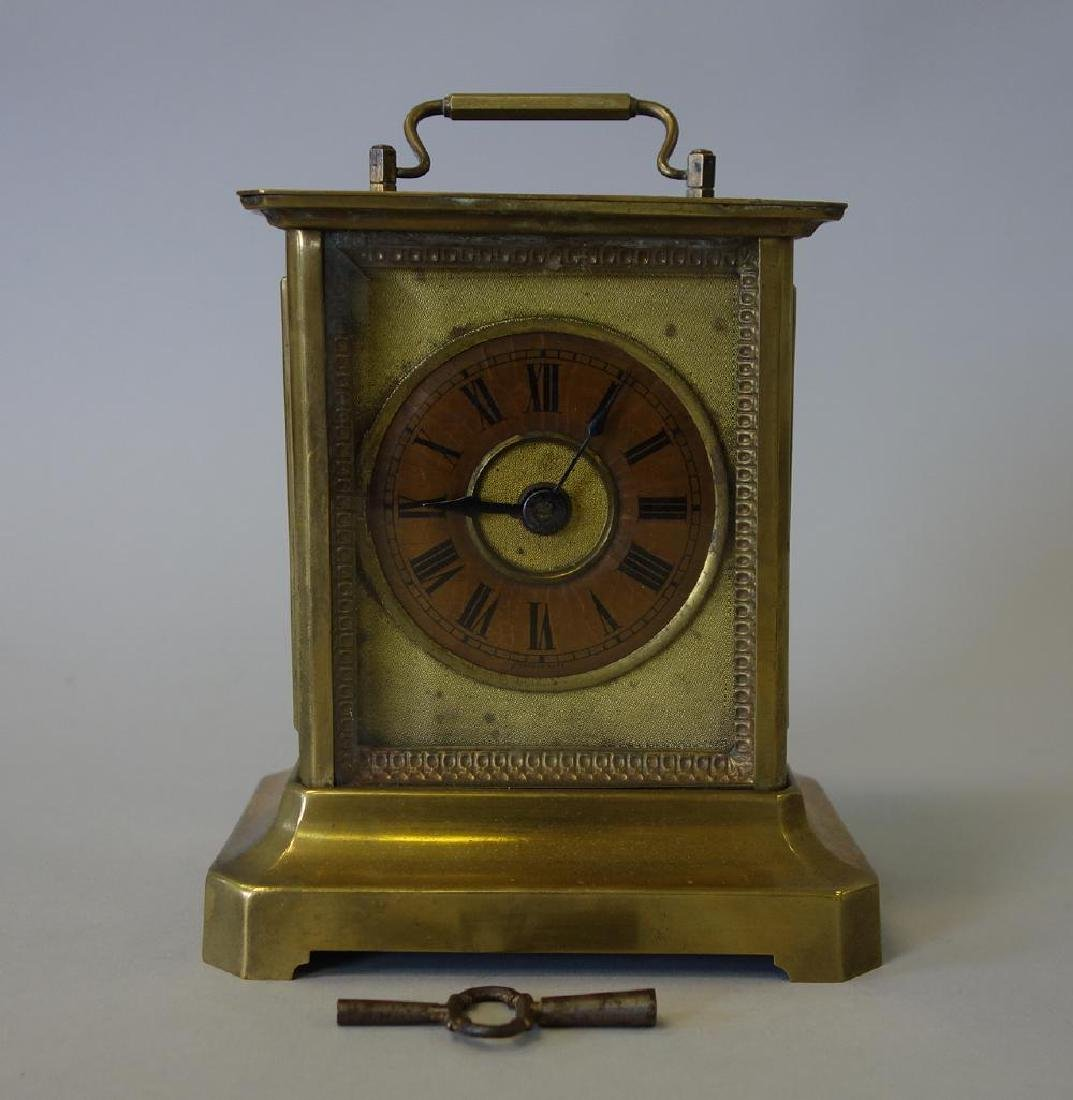 Junghans Brass Carriage Clock, Chinese Script