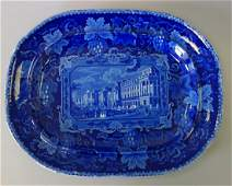 19thc Enoch Wood Historical Staffordshire Platter