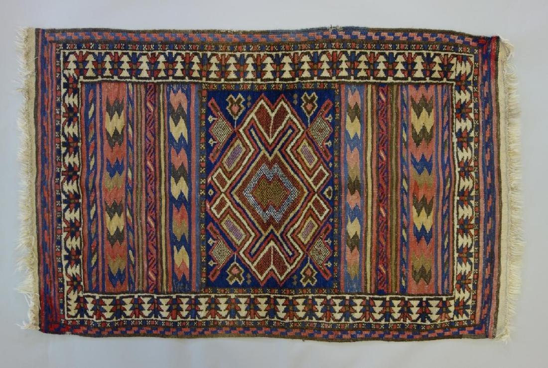 Turkish Kilim Flat Weave Rug