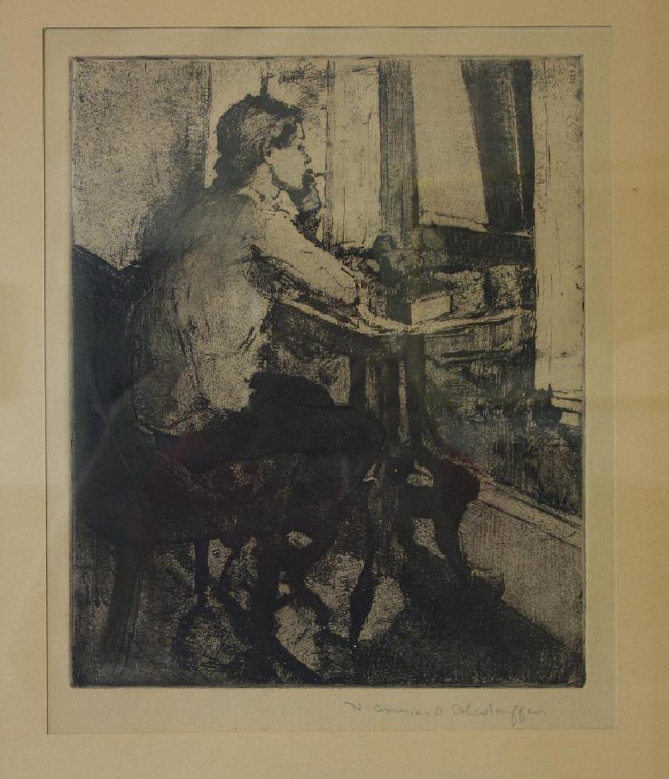 Henriette Oberteuffer (1878-1962) The Cigarette