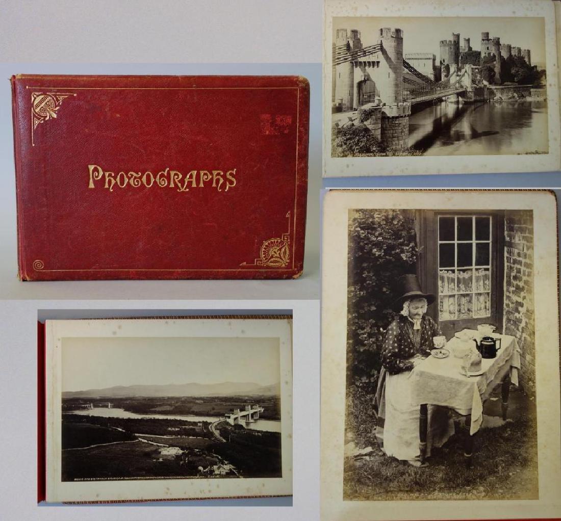 Antique Photograph Album, North Wales Photos