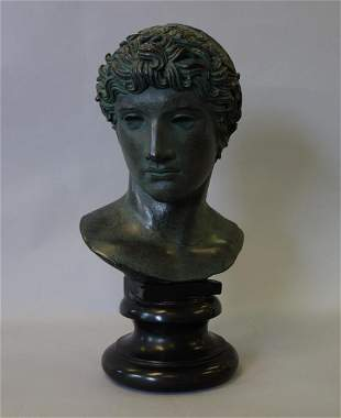Alva Studios 1955, Bust of Apollo, The Louvre