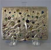 Russian Samorodok Jeweled Case, V. Gordon