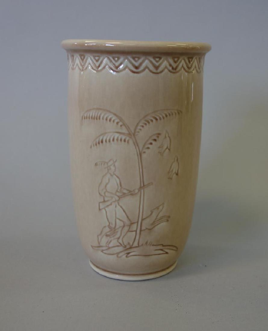 Decorated Rookwood Vase & Bowl - 2