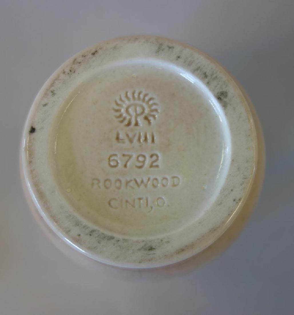 Decorated Rookwood Vase & Bowl - 5