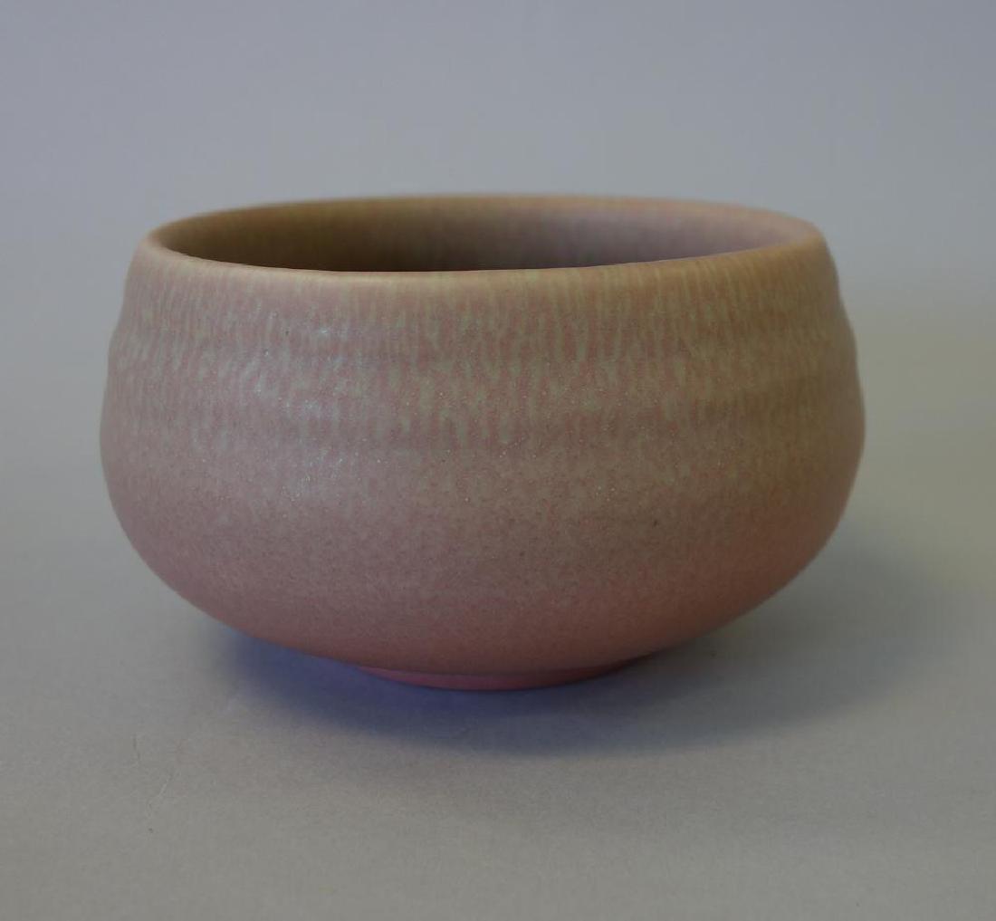 Decorated Rookwood Vase & Bowl - 6