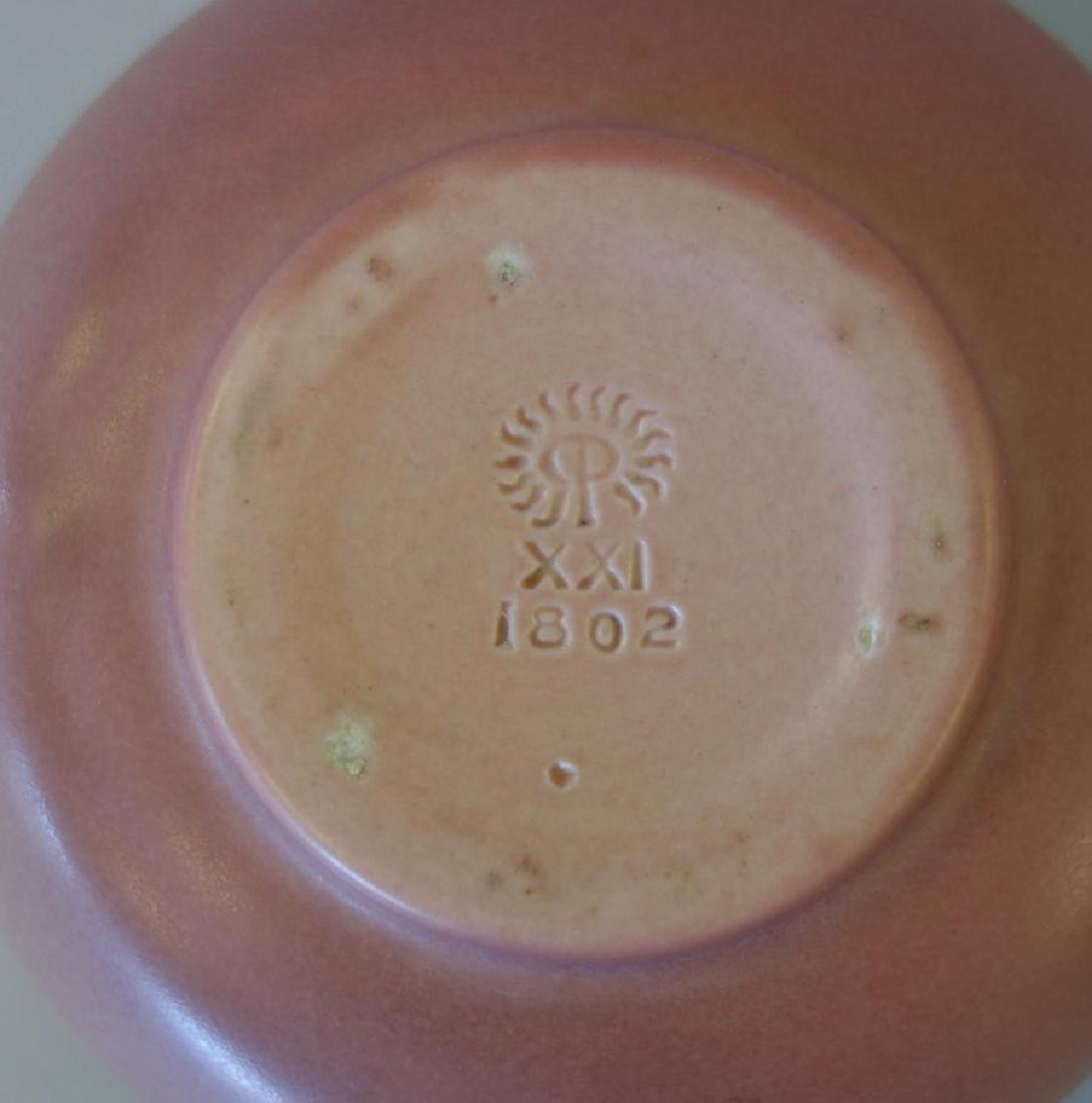 Decorated Rookwood Vase & Bowl - 7