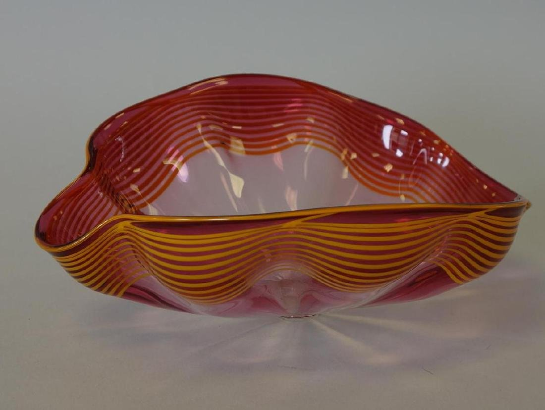Dale Chihuly (b-1941) Seaform, Signed, Dated 92 - 3