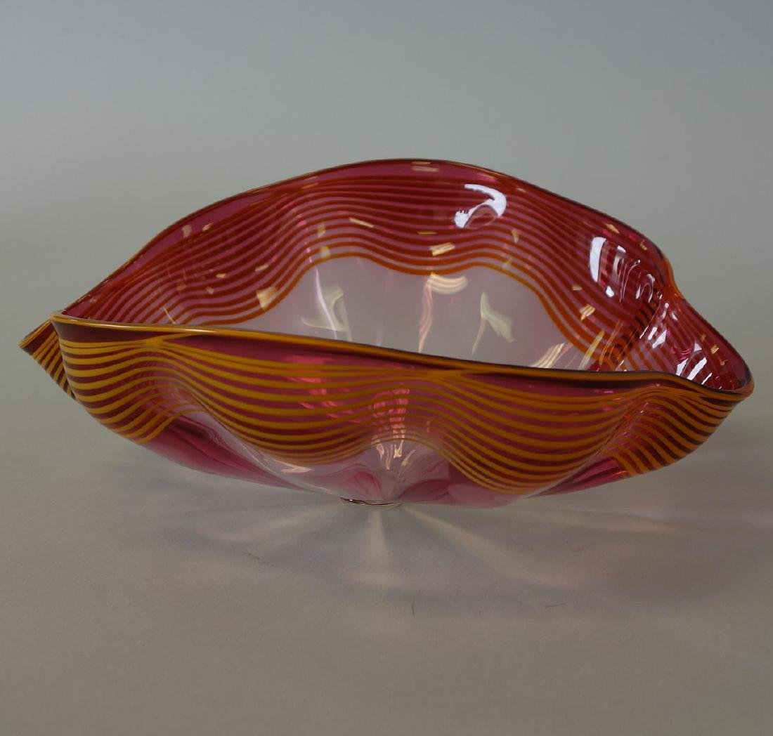 Dale Chihuly (b-1941) Seaform, Signed, Dated 92 - 4